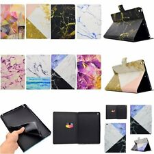 ULTRA THIN Art Fashion Leather SMART Flip TPU RUGGED Cover Case For Apple iPad