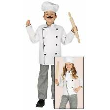 Childs Boys Girls Chef Cook Baker Job Role Play Fancy Dress Costume