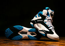 Reebok Shaq Attaq Pump White Black Azure Shaquille O'Neal Orlando Magic DS W/Rec