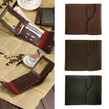 Hot Men's Faux Leather Bag Wallet Bifold Money Card Holder Clutch Purse Slim