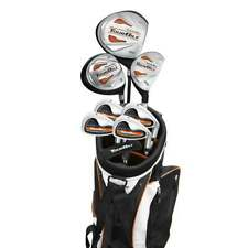 BOY'S LEFT or RIGHT TOURBILT GOLF SET wBAG+DRIVER+3WD+HYBRID+IRONS+PTR ALL SIZES
