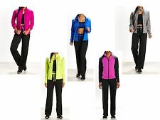 NWT$59 Be Inspired 2pc Athletic TrackSuit Zip Mock Jacket Pants Size Wms XSmall