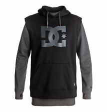 Sweatshirt DC Dryden grey/black water resistent snow hoody