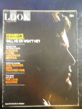 LOOK Magazine 1971 aug 10 SENATOR TED KENNEDY: WILL HE OR WON'T HE? PRESIDENT?
