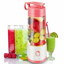 Portable Blender Electric Hand Juicer Cup USB Rechargeable Smoothie Fruit Mixer