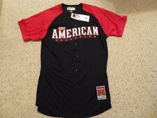 NWT Majestic 2015 MLB Allstar Game American League Batting Practice Jersey 40/44