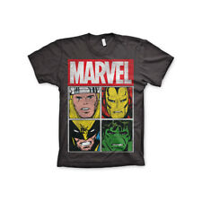 Officially Licensed Marvel Comics Marvel Distressed Characters Men's T-Shirt