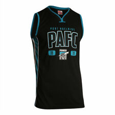 AFL Port Adelaide Power Kids Youth Basketball Jersey, sizes 8 10  only