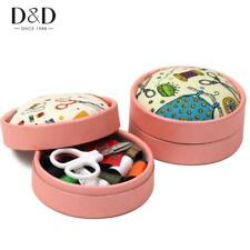 Home Travel Sewing Kits Sewing Pattern Fabric Pincushion Needle Threads Scissors