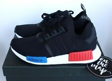 Adidas NMD OG Runner PK Primeknit Black Red Blue S79168 5 6 7 8 9 10 11 12 New