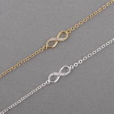 Fashion Love Infinity Bracelet for Women Personalized Infinity 8 Symbol Chain Br