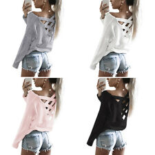 Blouse Tops Casual T Shirt Long Sleeve Shirt Womens Loose New Fashion