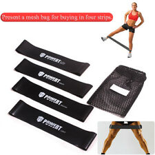 Resistance Stretch Band Tube Loop Gym Fitness Exercise Workout Yoga Training