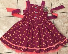 NEW MATILDA JANE Friends Forever Nicoletta Dress Size 8 NWT Polka Dot FALL Color
