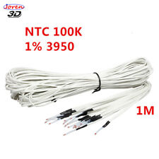 100K Ohm 3950 1% NTC Thermistor Temperature Sensor  with 1M cable of 3D Printer