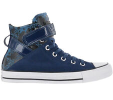 Converse Chucks All Star CT BREA HI Night Leather Women's Shoes Blue Sneaker NEW