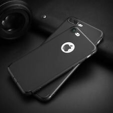 For iPhone 7 iPhone 6 6S Case Luxury Matte Soft Silicon Super Slim Phone Back Co