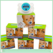 Pacifier Thermometer Digital Baby Kid LCD Mouth Nipple Temperature