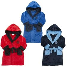 Boys Football Embroidered Dressing Gowns 7-13 yrs