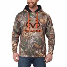 Realtree Mens Hoodie Brown Camouflage Performance Big & Tall Sizes