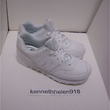 NEW BALANCE ML574 WEX ROUND TOE LEATHER SNEAKERS SHOES WHITE MENS SIZE 8.5, 9