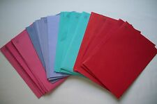 """Lot of 25 (Each Lot Has 4 Colors In It) Greeting Card Envelopes 5 3/4"""" x 8 1/4"""""""
