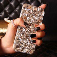 Rhinestone Diamond Bling Jewelled Crystal 3D Hard Back Phone Case Cover S005