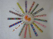 Pacifier/dummy strap -8 designs to choose from-Pikachu,Thomas,Superman,Nemo +