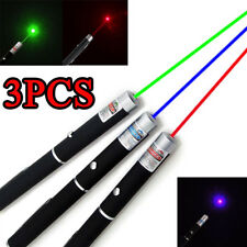 3PC 1mw  Green+Blue+Green  Grade Visible Light Beam Red Laser Pointer Pen Ray