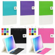 For Apple iPad 2 / 3 / 4 Magnetic Leather Smart Folio Case Cover Stand Hybrid