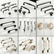 Vintage Cabinet Door Handles Cupboard Wardrobe Drawer Pulls Knobs European Style