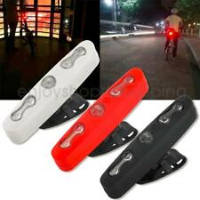 Cycling Bike Bicycle 5 LED Front Rear Tail Light Lamp Safety Flashing Warning