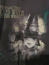"""NWT DISNEY'S """"BEWARE THE WICKED WITCH"""" Gray Size Adult XS or M Short Sleeve Tee"""