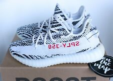 Adidas Yeezy Boost 350 V2 Zebra White Black Red CP9654 3 4 5 6 7 8 9 11 12 New