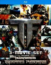 Transformers Trilogy (Blu-ray Disc, 2011, 3-Disc Set)-BRAND NEW, FACTORY SEALED