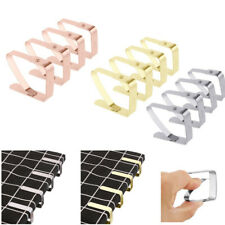 4 x Stainless Steel Tablecloth Clips Table Cover Holder Clamps Home Party Picnic