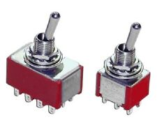 Miniature Panel Mount Toggle Switches High Quality Industrial Commercial Aero