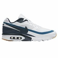 Nike Air Max Big Window Ultra White Armory Navy Mens Lace Up Trainers