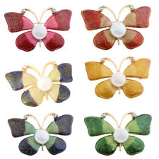 Vintage Rhinestone Cute Butterfly Brooch Pin Giftsfor Lady Women Party Dress
