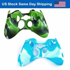 Silicone Controller Case Protector Gamepad Skin Cover for Xbox 360 Remote 2PCS