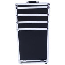 Makeup Pro 3-in-1 Wheeled Box Aluminum Rolling SM-7072 Train Case Cosmetic