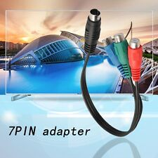 S-Video to 3 RCA RGB Component TV HDTV Cable Connect Your Laptop to HDTV RE