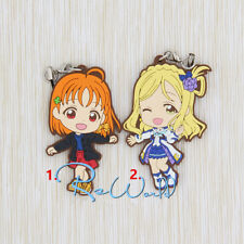 T663 Hot Anime Lovelive Love Live! rubber Keychain Key Ring Rare straps Cosplay