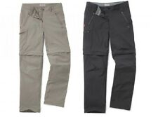 CRAGHOPPERS LADIES NOSILIFE PRO CONVERTIBLE TROUSERS CHARCOAL or BEIGE CWJ1119