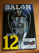 JUVENTUS v REAL MADRID 03.06.2017 UEFA CHAMPIONS LEAGUE PROGRAMME FINAL CARDIFF
