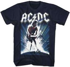 ACDC Malcolm Angus Young Classic Rock Band Guitarist CONCERT Adult T-Shirt 13