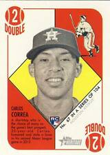 (32) 2015 Topps Heritage '51 Collection CARLOS CORREA Rookie Card Lot #67 Astros