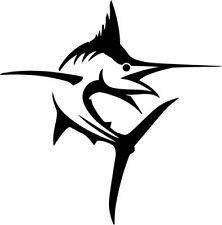 "Marlin Fish Vinyl Car / Truck Decal Boat Sea Life Yeti Surf Sticker Size 3"" & 5"""