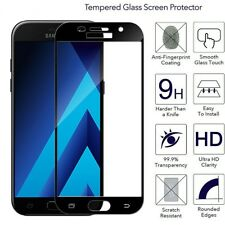 9H Full Cover 3D Curved Tempered Glass Film Screen Protector For Samsung Galaxy