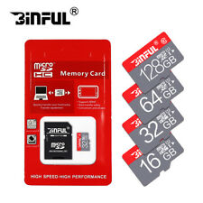 New Micro SD Memory Card 64GB TF Card SDXC Class 10 High Speed With Adapter